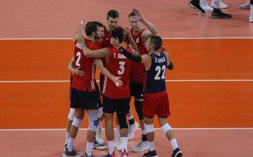 Волейболният Мондиал в София започна с нова победа за перфектните американци