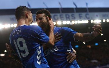 Рейнджърс се изложи с екипите в Лига Европа