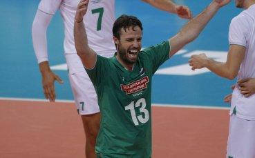 Синовете зарадваха Теди Салпаров след успеха над Иран