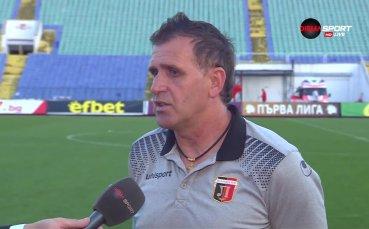 Акрапович: Не влязохме добре в мача, но после го контролирахме