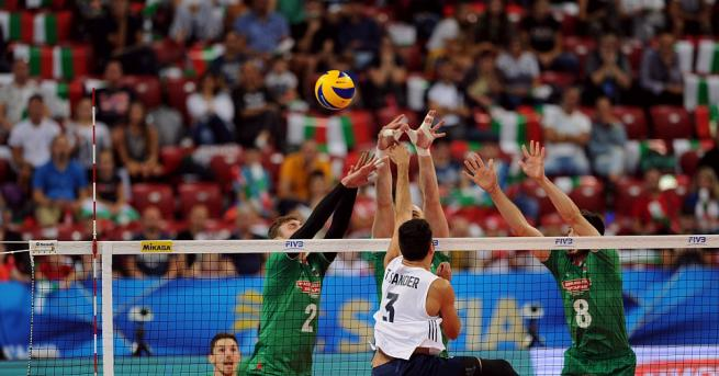 САЩ разби надеждите на българския национален отбор по волейбол за
