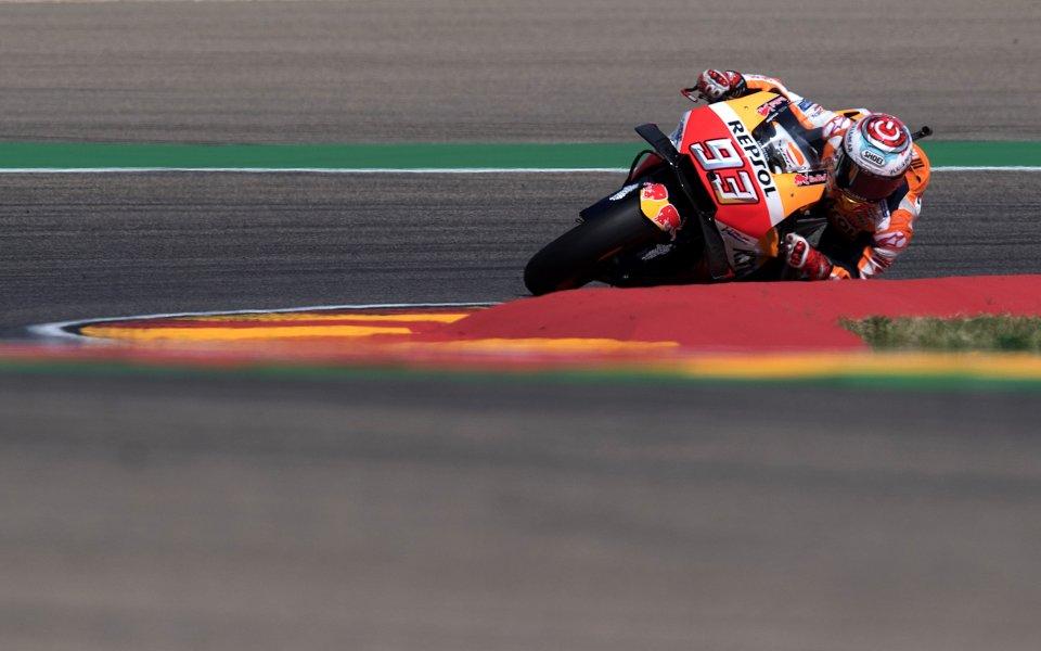 Маркес отново на победния път, триумфира в Арагон