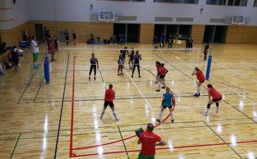 Волейболистките ни с победа в контрола - далеч от дома