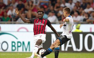 Аталанта се закачи в края срещу Милан и грабна точка (видео)