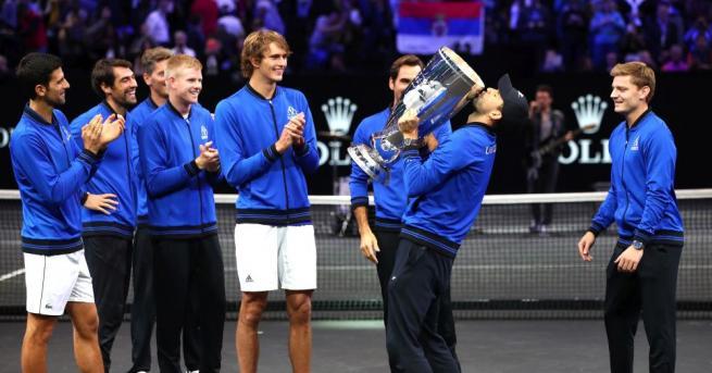 Българската звезда на тениса Григор Димитров най-после взе в ръце
