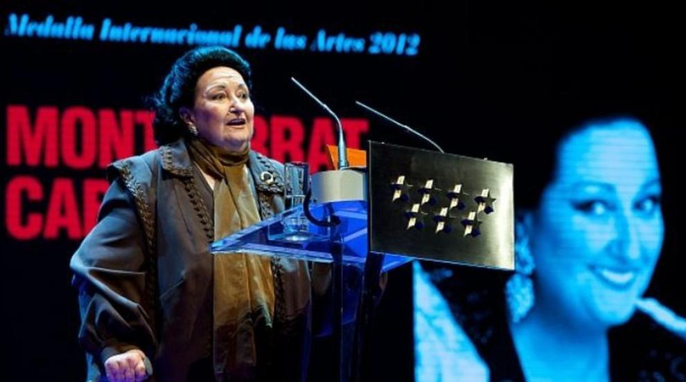 Оперната певица Монсерат Кабайе е в болница