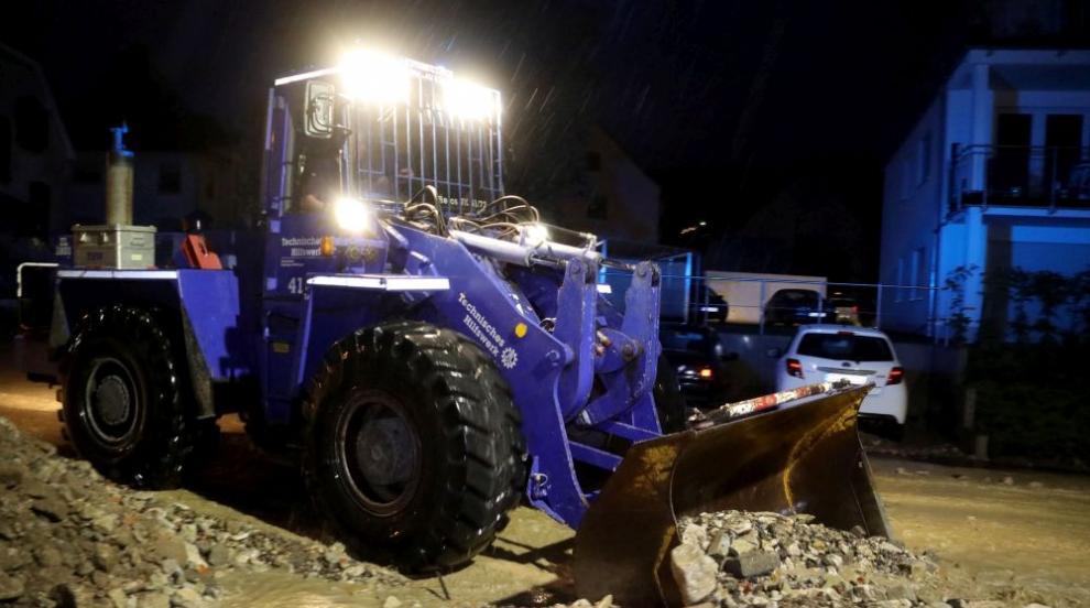 Буря в Германия: Един загинал и един тежко ранен