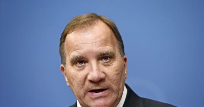 Премиерът на Швеция Стефан Льовен загуби парламентарен вот на доверие