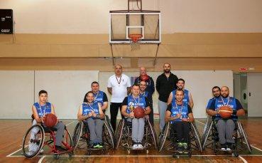 Солиден спонсор застана зад баскетболен отбор за инвалиди