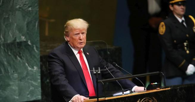 Президентът на САЩ Доналд Тръмп нарече Иран