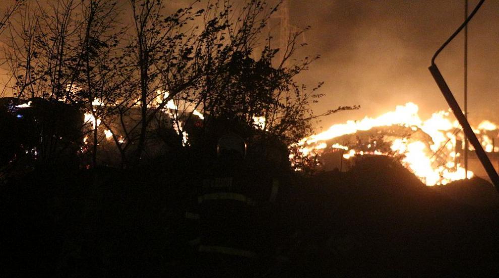 Голям горски пожар край Благоевград, няма опасност за хората