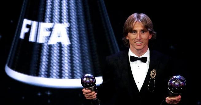 Лука Модрич спечели за пръв път отличието на ФИФА за
