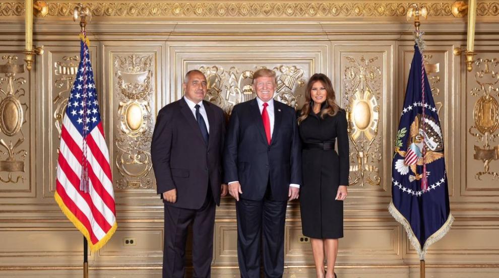 Борисов се снима с Доналд и Мелания Тръмп (СНИМКА)