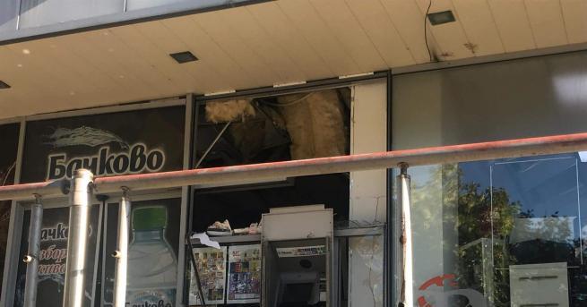 """Банкомат е взривен тази нощ в старозагорския квартал """"Железник"""". Сигналът"""