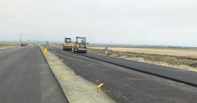 Подобряването на състоянието на пътната мрежа чрез изграждането и поддържането