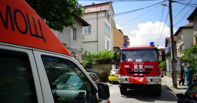 Пожар унищожи тази сутрин няколко къщи в старинния квартал