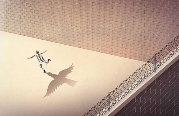 """Свободен отвътре"", пише Марко Мелграти."