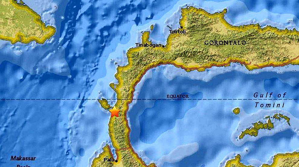 Цунами удари индонезийските градове Палу и Донгала след силно...