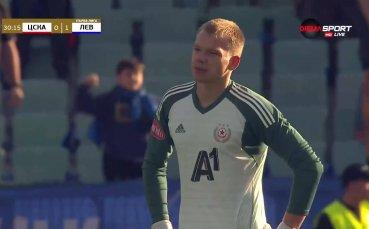 Левски поведе на ЦСКА след автогол