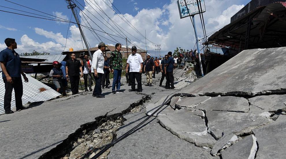 Ново силно земетресение разтърси крайбрежието на Индонезия
