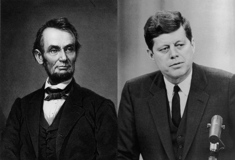 Еднаквите президенти на САЩ<br /> <br /> Двама от президентите на САЩ Ейбрахам Линкълн и Джон Кенеди споделят няколко невероятни съвпадения. И двамата са убити с изстрел в главата; и двамата умират в петък; и двамата умират преди празник – Кенеди е застрелян в навечерието на Денят на благодарността, а Линкълн е убит преди Великден; и двамата в момента на смъртта си са придружавани от съпругите си и още една двойка. Но има и още! И двамата имат приятел на име Били Греъм, и двамата имат по четири деца, и двамата имат секретари, с име като на другия (секретарка на Кенеди се е казвала г-жа Линкълн, а секретар на Линкълн се е казвал Джон).