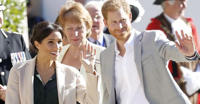 След като се ожениха през май принц Хари и съпругата