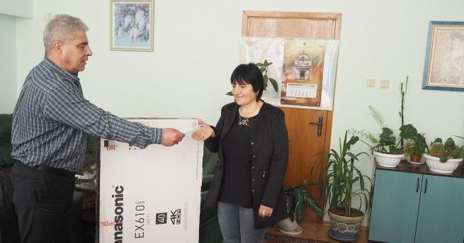 Продавачка от Сеново избра да получи в Разград спечелената от