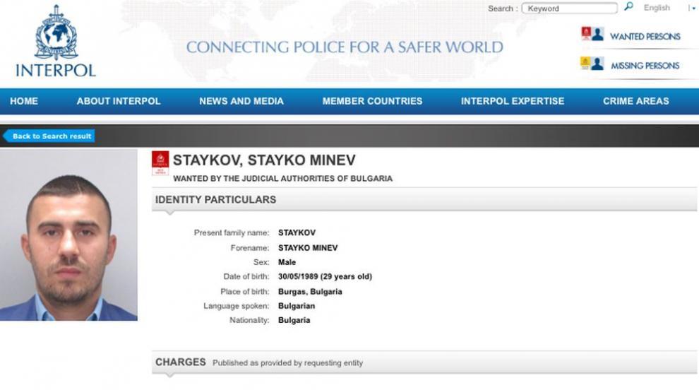 Синът на Миню Стайков не знаел, че го издирват с Интерпол