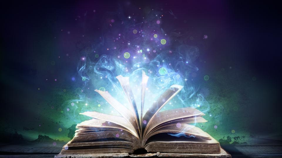 магия книга мистично