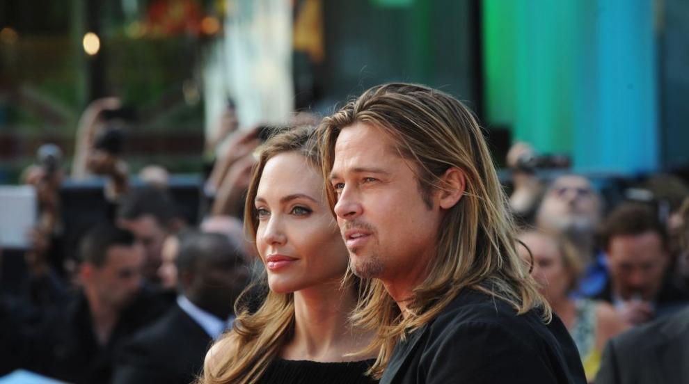 """Официално: Брад Пит и Анджелина Джоли са """"необвързани"""""""