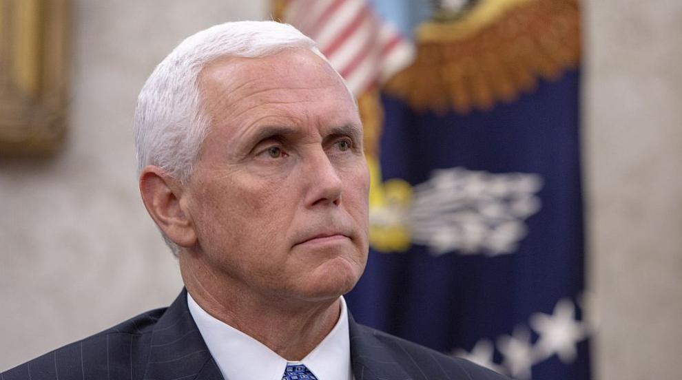 """Майк Пенс: САЩ гарантират, че """"Ислямска държава"""" няма да надигне грозната..."""