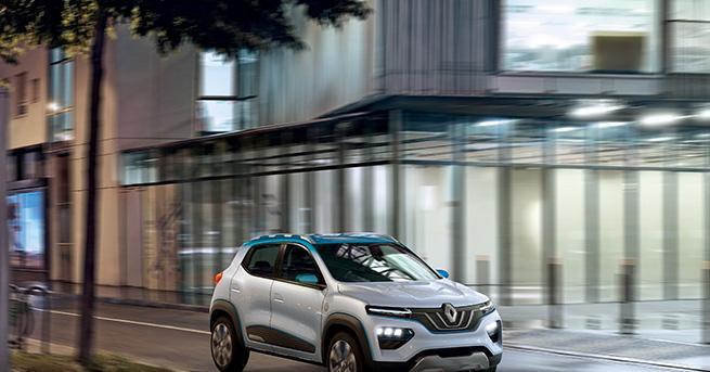 Снимка: Renault K-ZE е нов достъпен електромобил за Китай
