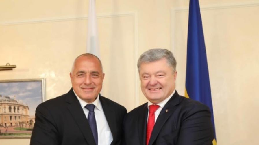 Борисов в Одеса говори за украинците с български произход
