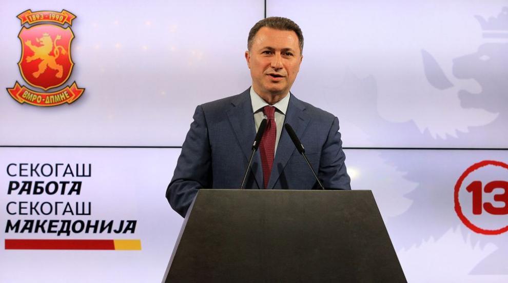Никола Груевски ползвал унгарски дипломатически автомобил, за да избяга...