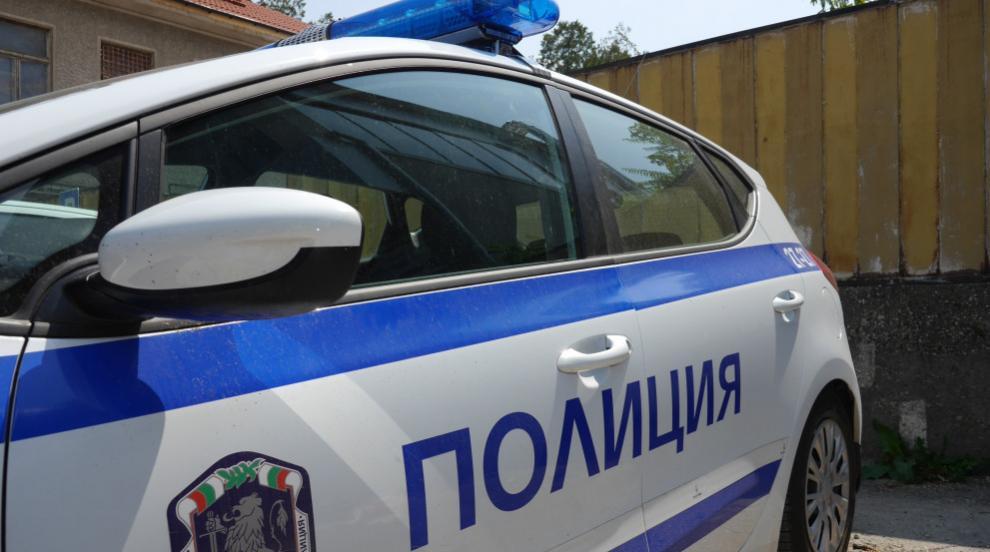 Пиян шофьор се блъсна в патрулка