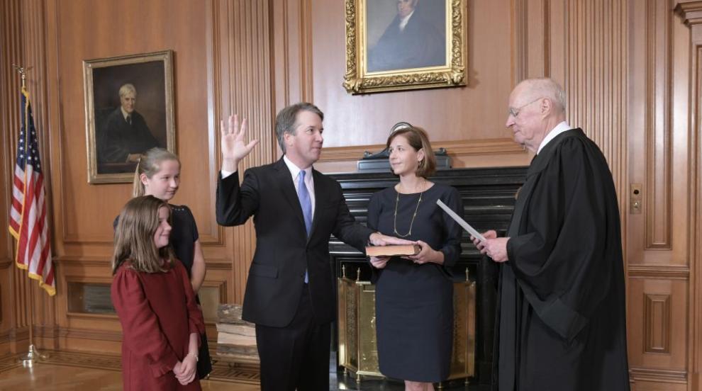 Сенатът на САЩ утвърди Брет Кавано за съдия във Върховния съд