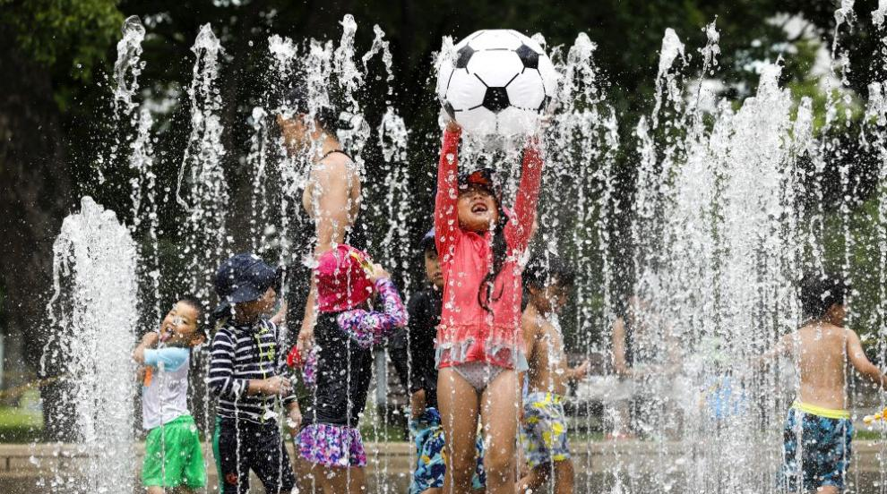 23 жертви на жегата в Япония за седмица, близо 13 000 души са в болница