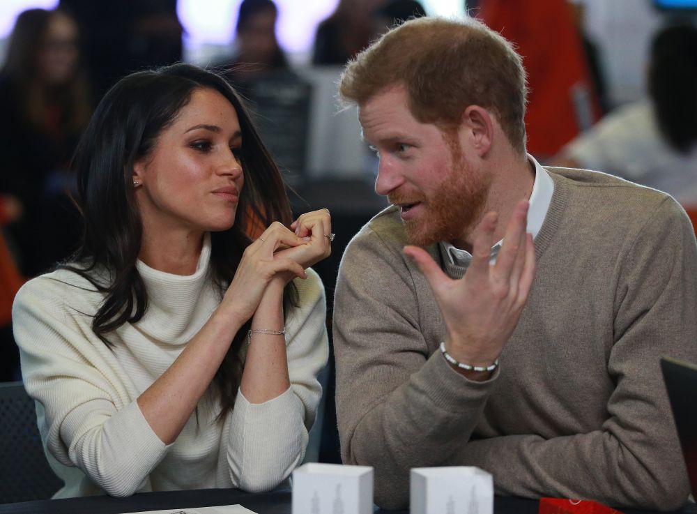Принц Хари и прекрасната му съпруга Меган Маркъл
