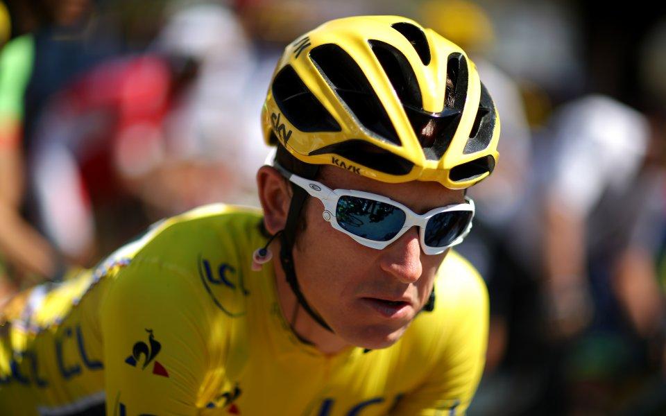 Британският колоездач Герант Томас заяви, че се е разминал с