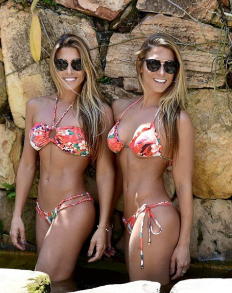 Биа и Бранка Ферес са бивши състезателки по синхронно плуване. Двете са представяли родната си страна Бразилия на световни първенства, както и на Панамериканските игри. През 2011 г. момичетата слагат край на спортната си кариера. В мрежата те имат над половин милион последователи.