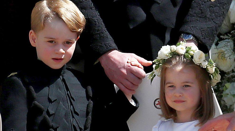 Джордж, Шарлот, Тиодора – малките шафери на принцеса Юджини (СНИМКИ/ВИДЕО)