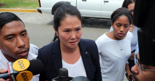 Кейко Фухимори е арестувана в Перу в рамките на разследването