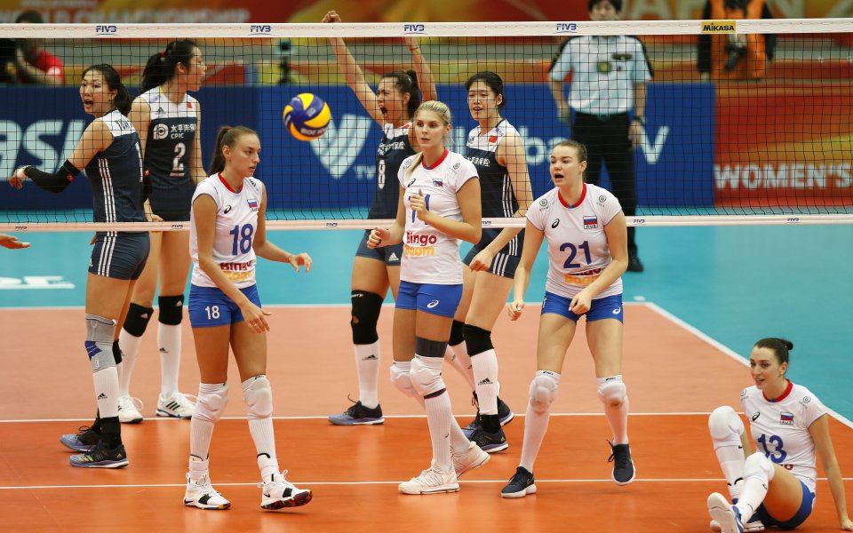 Рускините отпаднаха от Световното по волейбол
