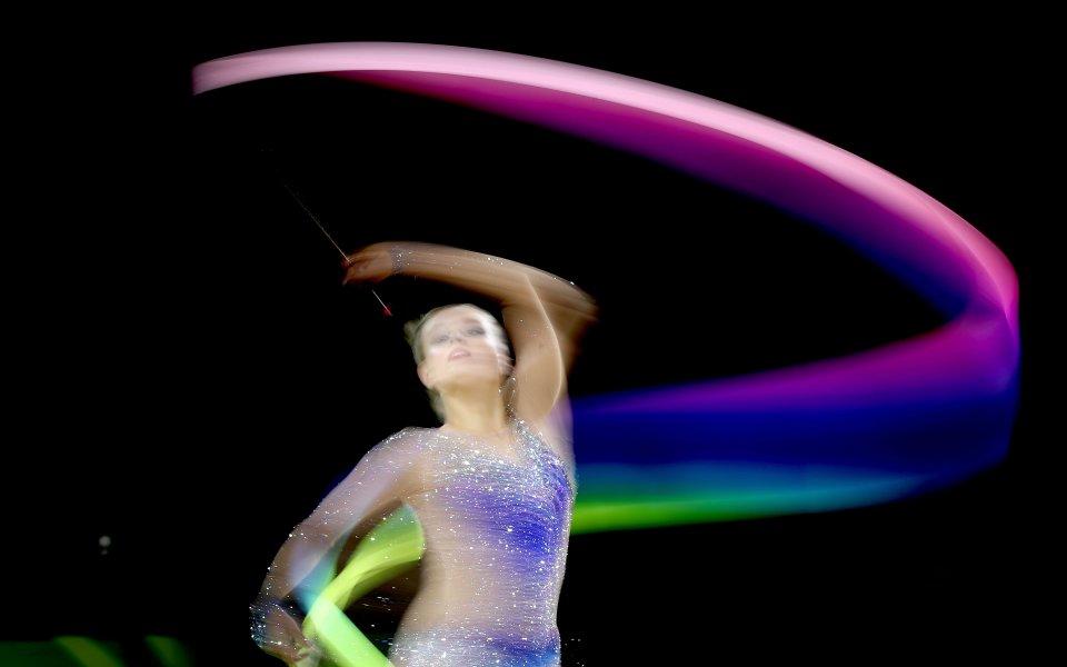 56 ансамбъла на държавното по художествена гимнастика