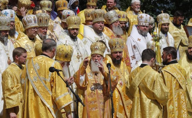 Украйна се откъсна от Москва, Русия заплашва православието