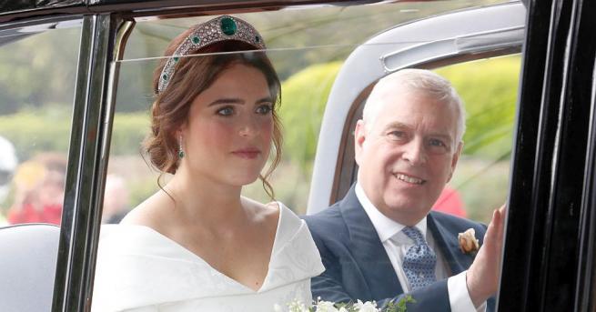 Британската принцеса Юджини се омъжи за бизнесмена Джак Бруксбанк в