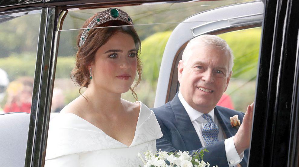 Британската принцеса Юджини се омъжи за Джак Бруксбанк (ВИДЕО)