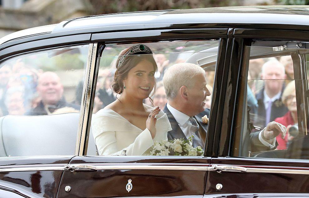 Сватбата на принцеса Юджини и Джак Бруксбанк