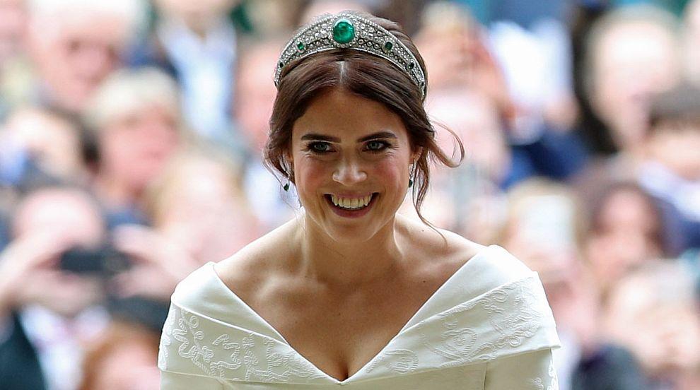 Каква символика крие булчинската рокля на принцеса Юджини (СНИМКИ)