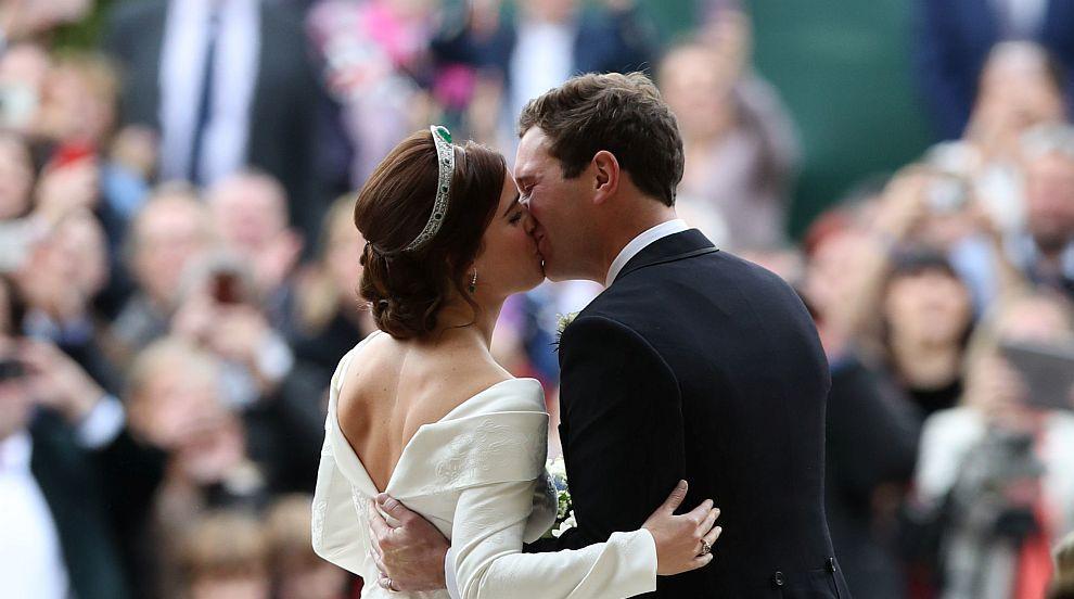 Специалист по езика на тялото разтълкува целувката на принцеса Юджини и...